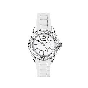Sekonda stone set bezel watch
