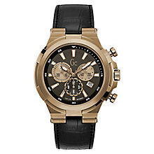 GC Structura Men's Rose Gold Plated Chronograph Watch - Product number 8376506
