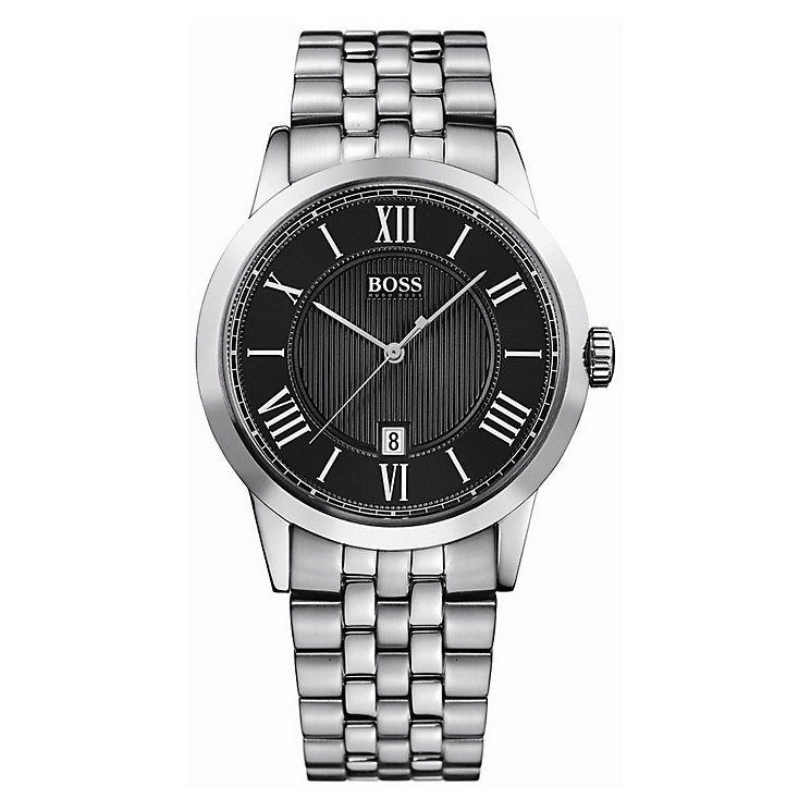 Hugo Boss men's stainless steel bracelet watch - Product number 8376646