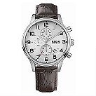 Hugo Boss men's stainless steel round dial strap watch - Product number 8376654