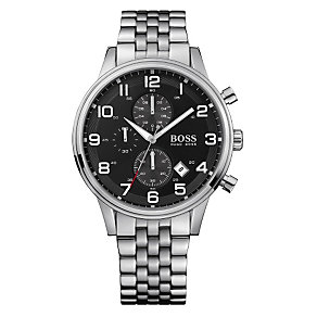 Hugo Boss men's stainless steel chronograph - Product number 8376662