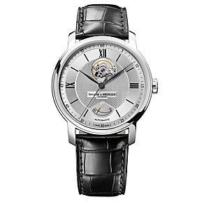 Baume & Mercier men's black strap watch - Product number 8377197