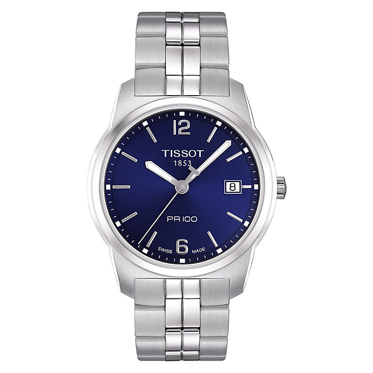 Tissot PR100 men's stainless steel bracelet watch - Product number 8377731