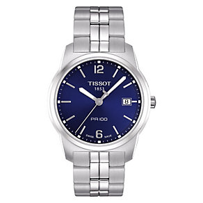 Tissot PR100 men's stainless steel bracelet watch - Product number 8377731