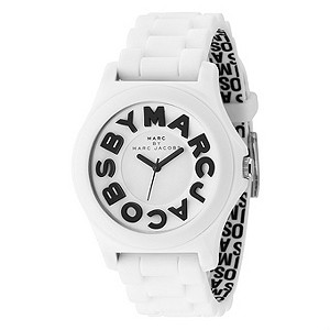 Marc by Marc Jacob's ladies' black strap big logo watch - Product number 8379971
