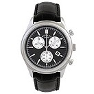 Rotary men's black dial chronograph leather strap watch - Product number 8379998