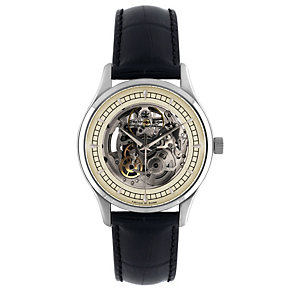 Dreyfuss & Co skeleton automatic movement strap watch - Product number 8380252