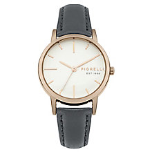Fiorelli Ladies' Grey PU Strap Watch - Product number 8389675