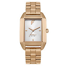 Fiorelli Ladies' Rose Gold Alloy Bracelet Watch - Product number 8389748