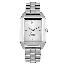 Fiorelli Ladies' Silver Alloy Bracelet Watch - Product number 8389756