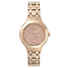 Versus Versace Ladies' Rose Gold Plated Bracelet Watch - Product number 8391629