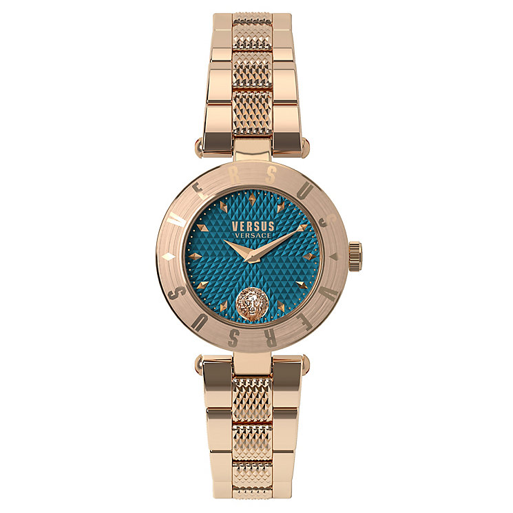 Versus Versace Ladies' Rose Gold Plated Bracelet Watch - Product number 8391823