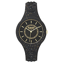 Versus Versace Ladies' Black Silicone Strap Watch - Product number 8392676