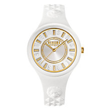 Versus Versace Ladies' White Silicone Strap Watch - Product number 8392714