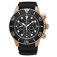 Seiko Prospex Men's Rose Gold Plated Chronograph Watch - Product number 8402493
