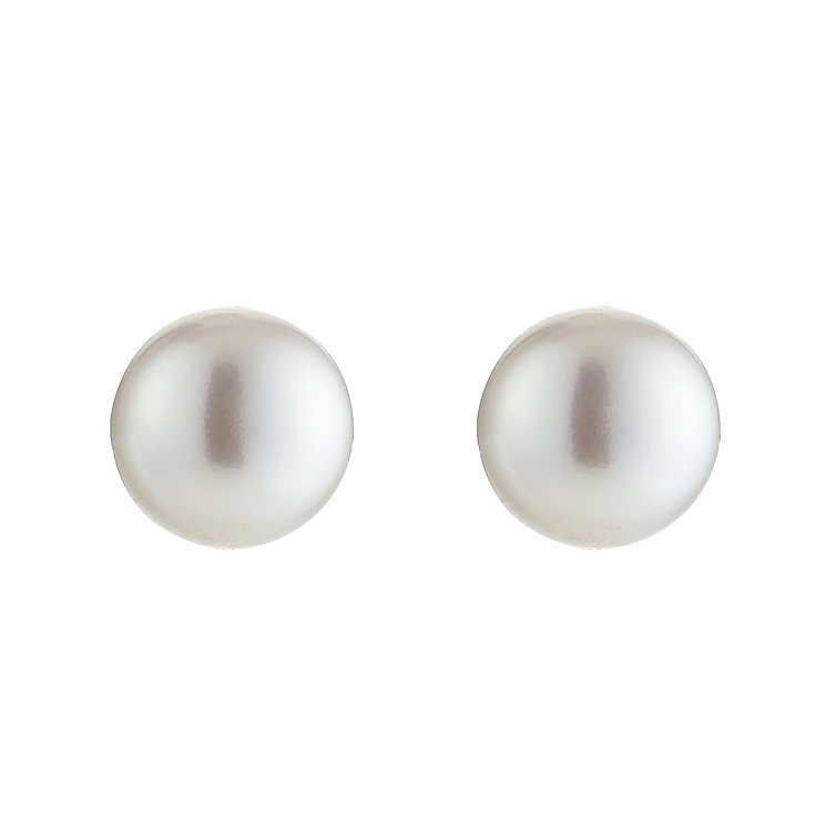 9ct Cultured Freshwater Pearl Earrings 7mm - Product number 8406073