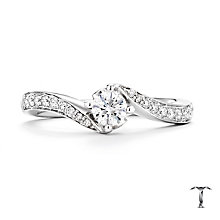 Tolkowsky Platinum 0.33ct Diamond Ring - Product number 8411719