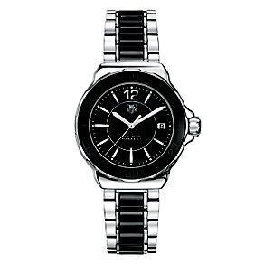 TAG Heuer Formula 1 stainless steel & black ceramic watch - Product number 8418004