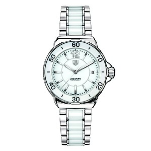 TAG Heuer Formula 1 stainless steel & white ceramic watch - Product number 8418047