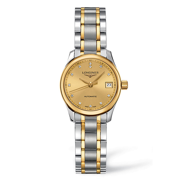 Longines Master Collection ladies' two colour watch - Product number 8418071