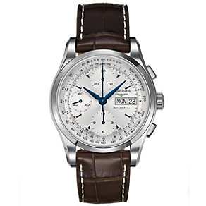 Longines Heritage 1954 men's brown strap watch - Product number 8418128