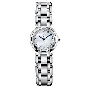 Longines PrimaLuna ladies' stainless steel bracelet watch - Product number 8418306