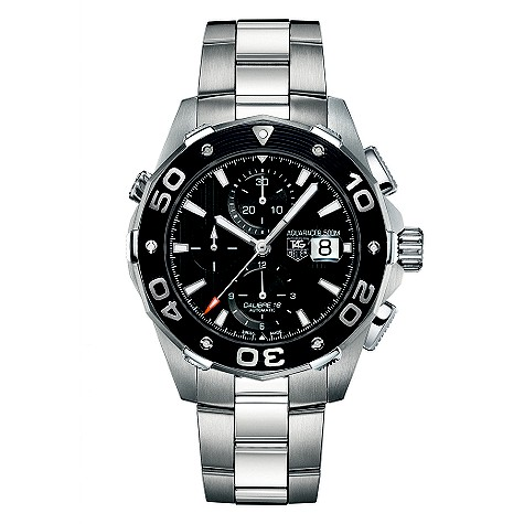 Tag Heuer Aquaracer 500 Calibre 16 automatic bracelet watch