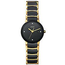 Rado Centrix ladies' steel and ceramic bracelet watch - S - Product number 8418713