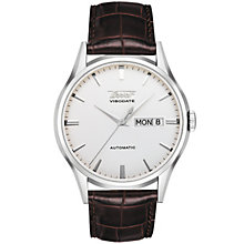 Tissot Heritage Visodate stainless steel brown strap watch - Product number 8419264