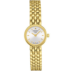 Tissot Lovely ladies' gold plated bracelet watch - Product number 8419396