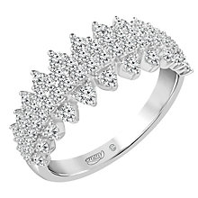 Emmy London 9 Carat White Gold 3/4 Carat Diamond Ring - Product number 8421412