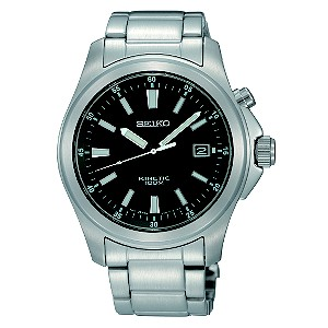 Seiko Kinetic Men's Stainless Steel Bracelet Watch - Product number 8422168