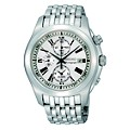 Seiko Men's Chronograph Stainless Steel Bracelet Watch - Product number 8422370