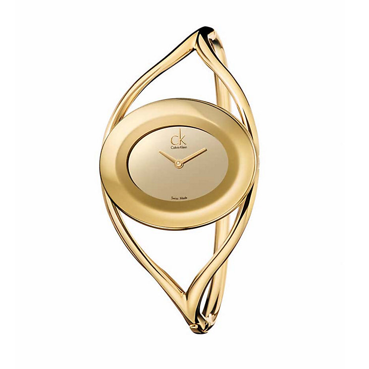 Calvin Klein ladies' gold-plated watch - Product number 8424438