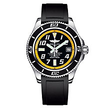 Breitling Superocean 42 men's black rubber strap watch - Product number 8424675