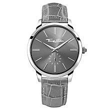 Thomas Sabo Men's Stainless Steel Grey Strap Watch - Product number 8429138