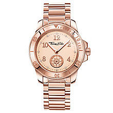 Thomas Sabo Ladies' Rose Gold Plated Bracelet Watch - Product number 8429146