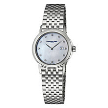 Raymond Weil ladies' stainless steel bracelet watch - Product number 8430535