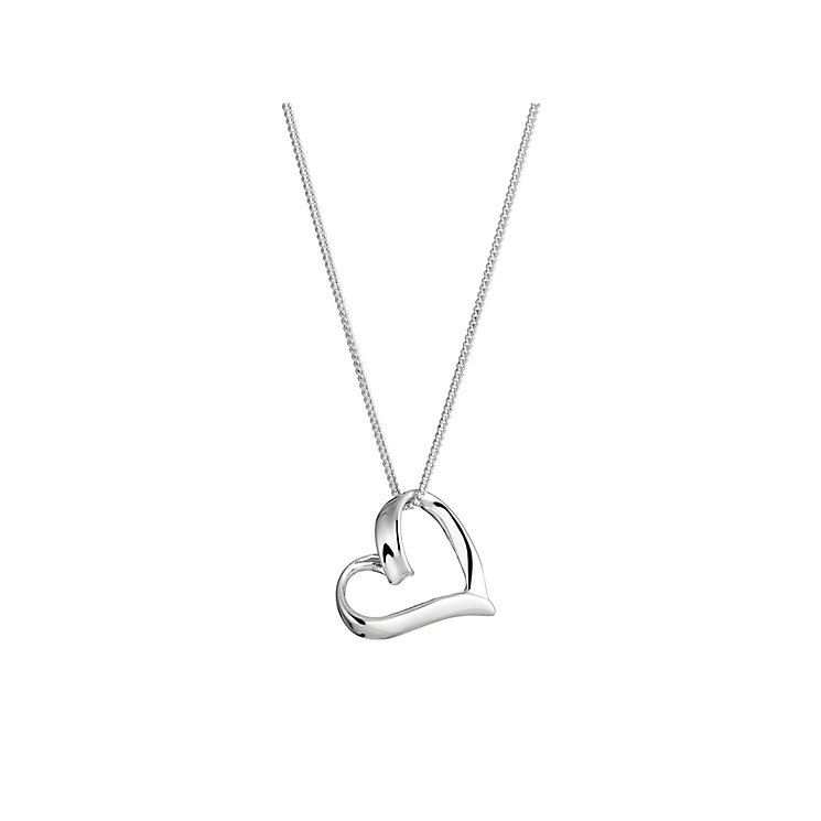 Sterling Silver Heart Pendant - Product number 8431590