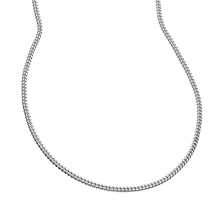 "Sterling Silver 20"" Curb Chain - Product number 8432740"