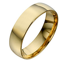 22ct Yellow Gold 6mm Extra Heavyweight Court Wedding Ring - Product number 8441049
