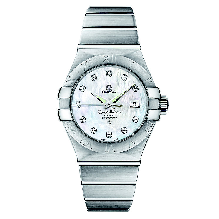 Omega Constellation Omega ladies' diamond watch - Product number 8442622