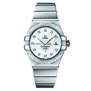 Omega Constellation ladies' diamond watch - Product number 8442622