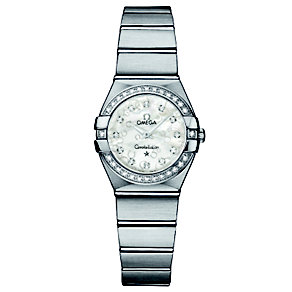 Omega Constellation ladies' diamond set watch - Product number 8442649