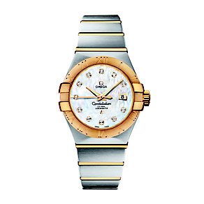 Omega Constellation ladies' diamond bracelet watch - Product number 8442673