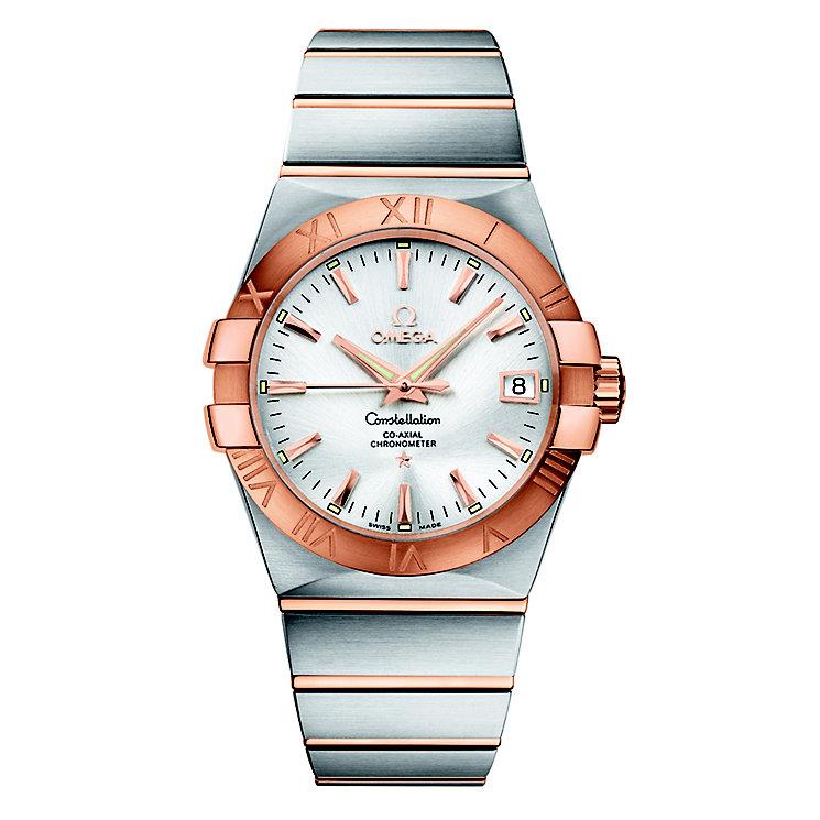 Omega Constellation men's chronometer bracelet watch - Product number 8442878