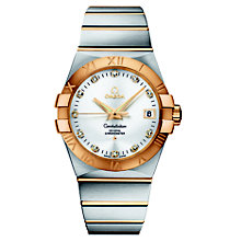 Omega Constellation men's chronometer bracelet watch - Product number 8442886