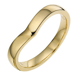 Ladies' 18ct Yellow Gold 3mm Wedding Ring - Product number 8462429