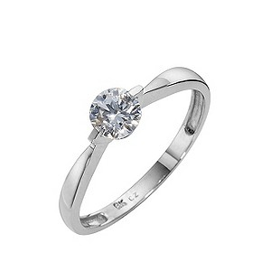 ... solitaire ring made with Swarovski Zirconia - Product number 8466211