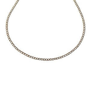 9ct Rose Gold Curb Chain